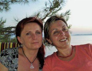 Petra Švábíková a Hana Jašová